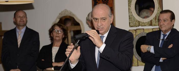 El ministro del Interior en la celebración del 25º Aniversario de Aesleme